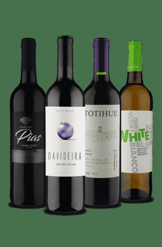 Kit Sensações (4 Vinhos)