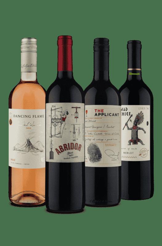 Kit Sabores (4 Vinhos)