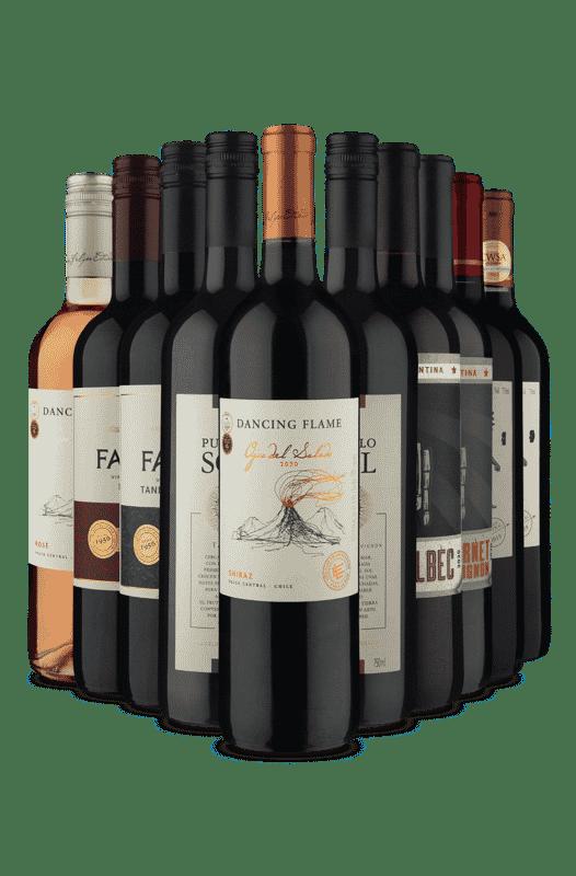 Kit Dupla de Cada Linha (10 Vinhos)