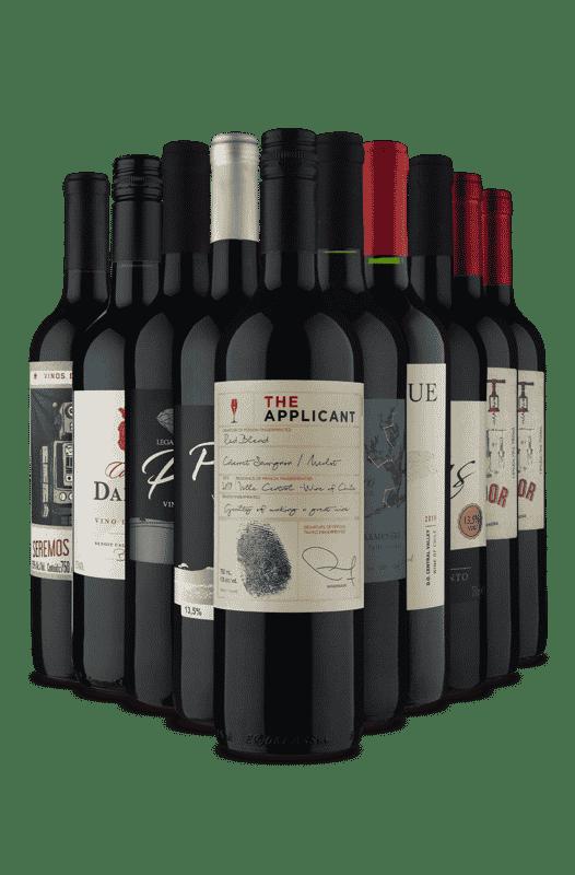 Kit Especial Uvas Sortidas (10 Vinhos)