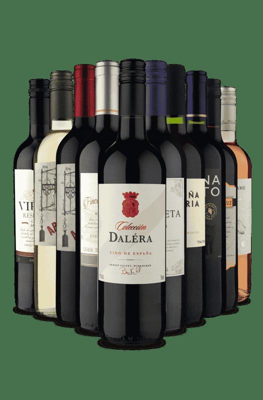 Kit Vinhos para Brindar (10 Vinhos)