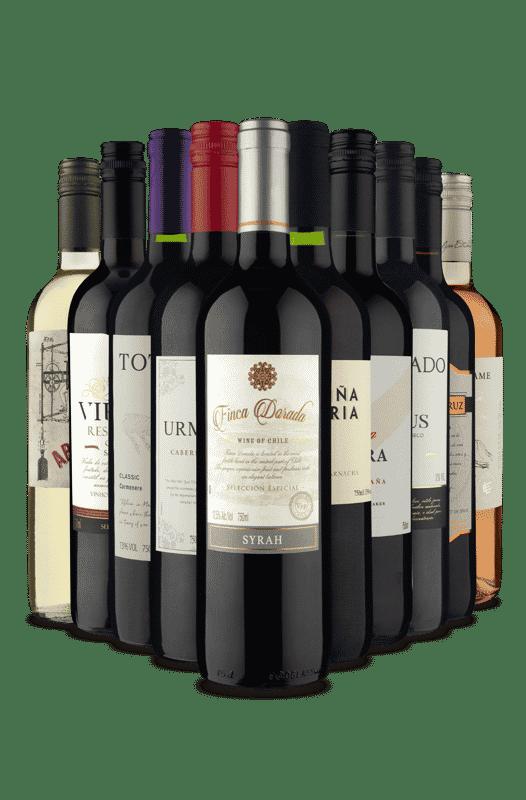 Kit Países e Sabores (10 Vinhos)