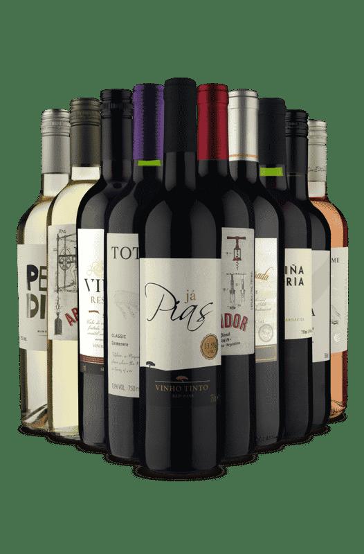 Kit Misturas de Sabores (10 Vinhos)