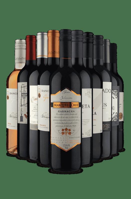 Kit 2 Continentes (10 Vinhos)