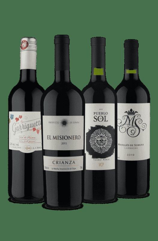 Kit Premium Tintos Para Partilhar (4 Vinhos)