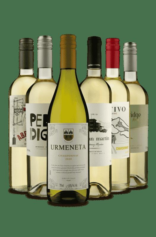Kit Chardonnay Só é Branco (6 Vinhos)