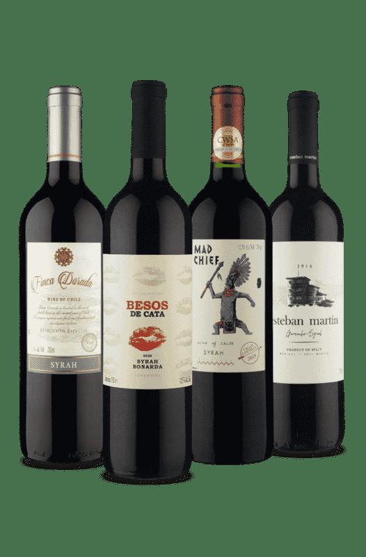 Kit Conheça a Syrah (4 Vinhos)