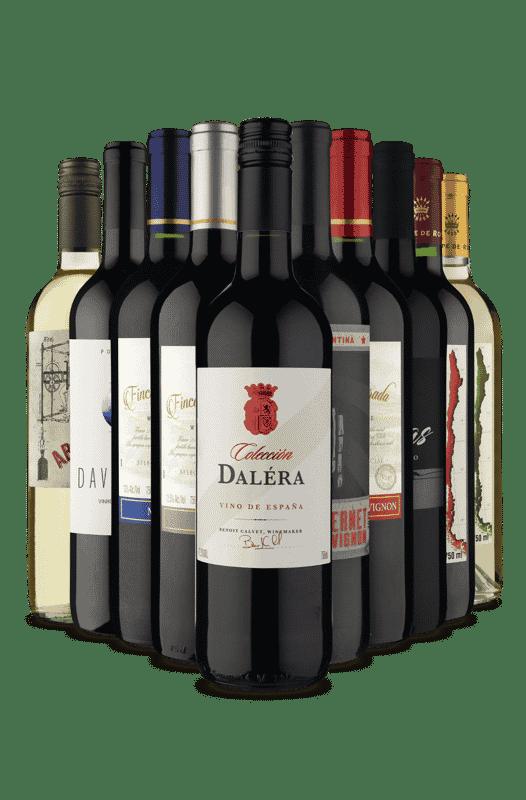 Kit Os Mais Pedidos (10 Vinhos)