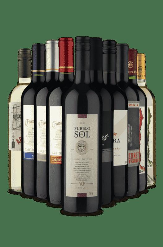 Kit Especial Novos Clientes (10 Vinhos)