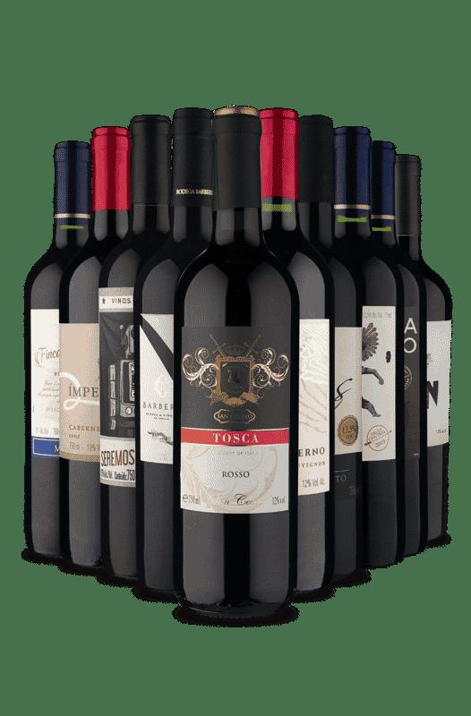 Kit Tintos Espetaculares (10 Vinhos)