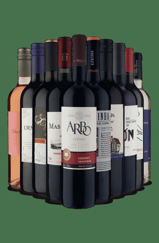 Kit Seleção Espetacular Vinho Fácil (10 Vinhos)
