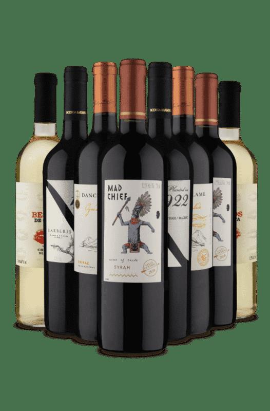 Kit Duplas Fáceis (8 Vinhos)