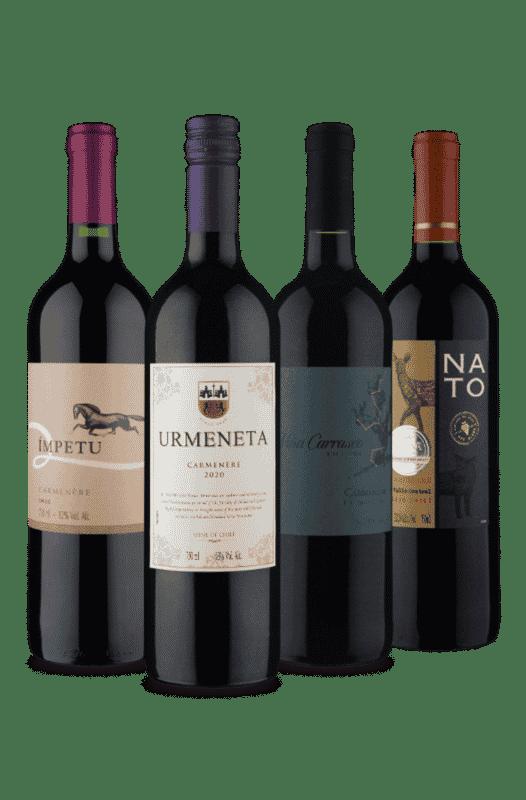 Kit Tintos Vinho Fácil (4 Vinhos)