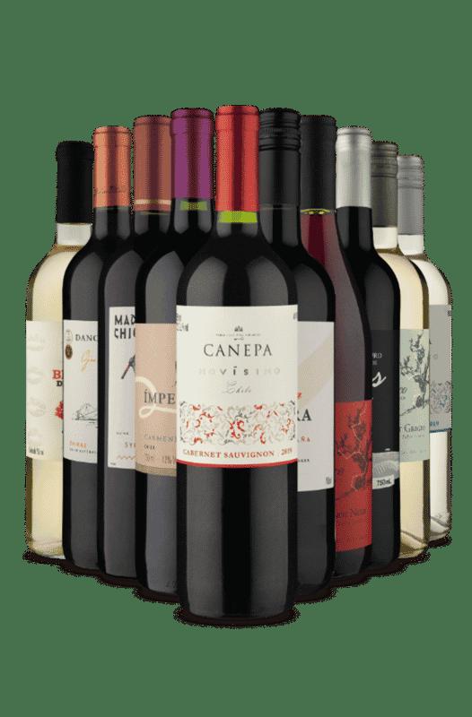 Kit Melhores Sabores (10 Vinhos)