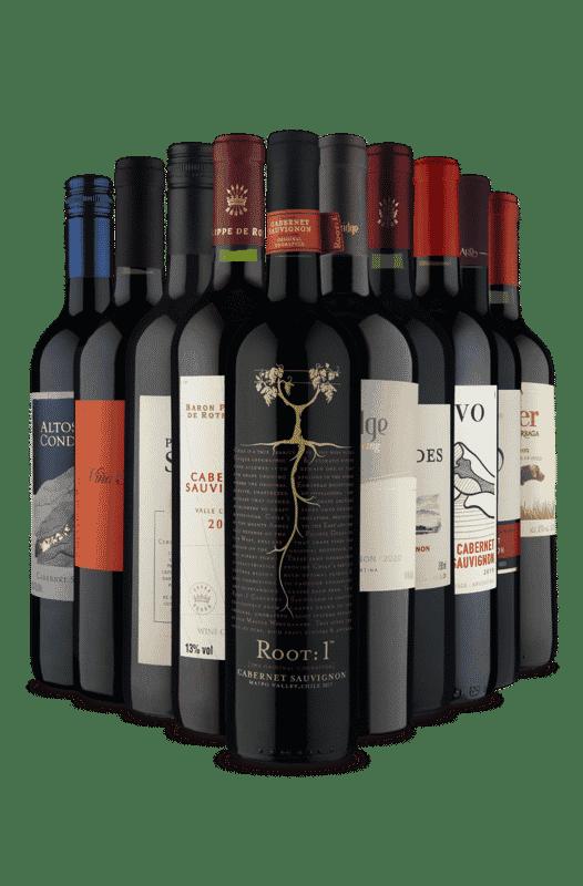 Kit Cabernet Sauvignon, Vinho do Bom (10 Vinhos)