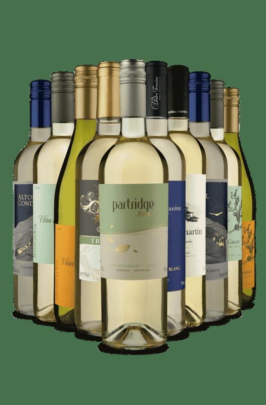 Kit Só Brancos (10 Vinhos)