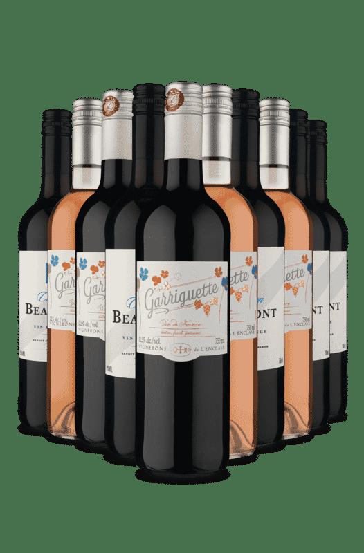 Kit Só Franceses (10 Vinhos)