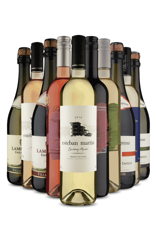 Kit Europeus para Beber Bem Gelado (10 Vinhos)
