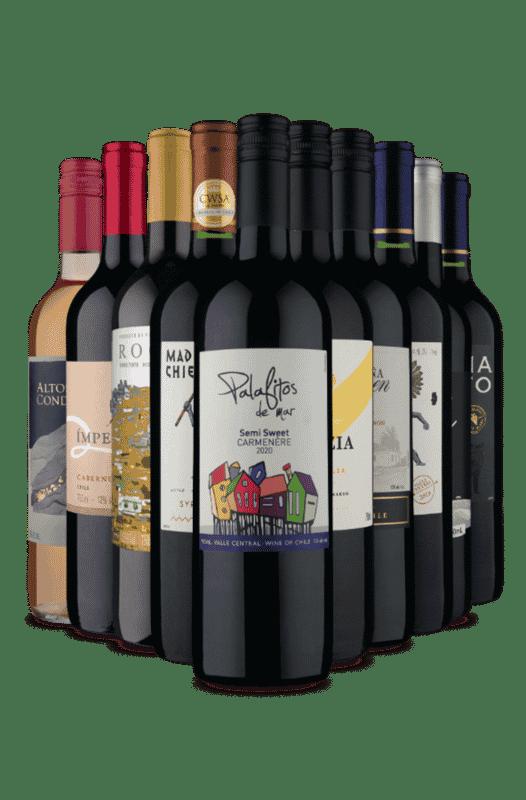 Kit Vem que Tem Vinho (10 Vinhos)