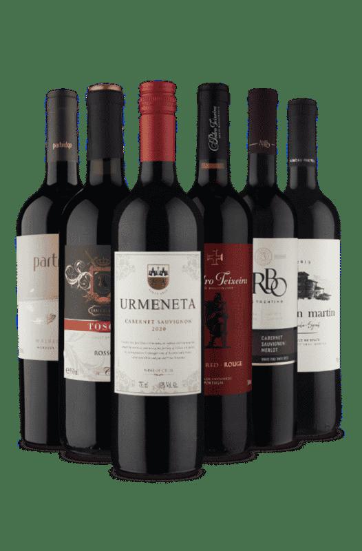 Kit 6 Países (6 Vinhos)