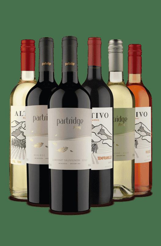 Kit Altivo Clássic e Partridge Flying (6 Vinhos)