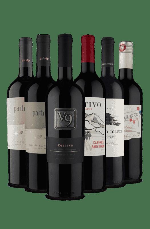 Kit O Melhor dos Tintos (6 Vinhos)