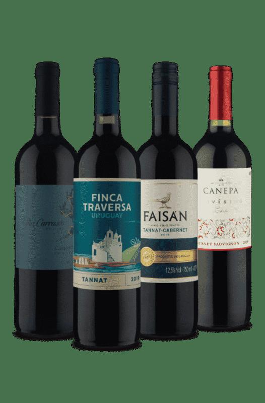 Kit Tim-tintos (4 Vinhos)