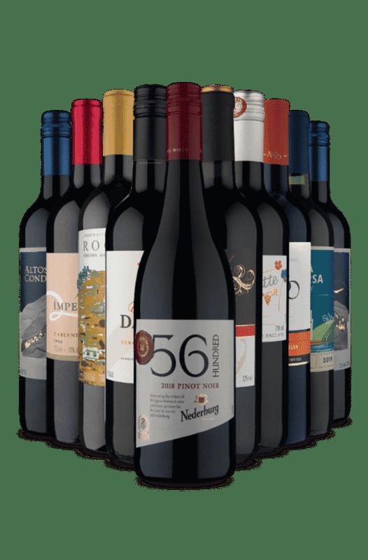 Kit Tintos Volta ao Mundo (10 Vinhos)