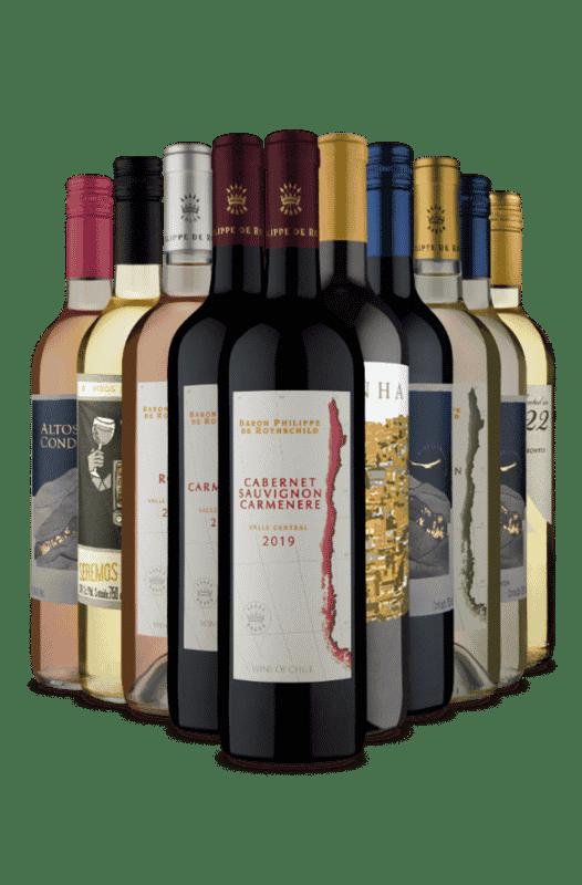 Kit Portguês na America do Sul (10 Vinhos)