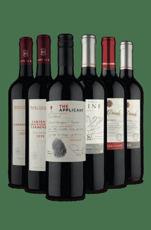 Kit 6 Chilenos Selecionados (6 Vinhos)
