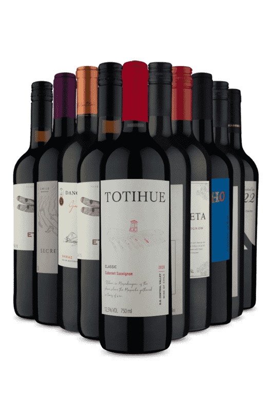 Kit Tintos de 4 Países (10 Vinhos)