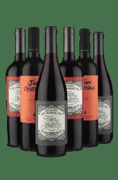 Kit Hermano de mi Corazón (6 Vinhos)