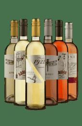 Kit 3 Brancos e 3 Rosés (6 Vinhos)