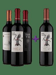 Kit 4 Vinhos Tintos Mais do que Perfeitos (4 Vinhos)