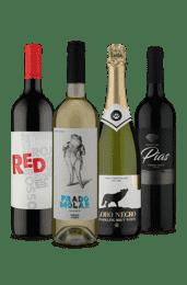 Kit 4 Europeus 50% Tinto e 50% Refrescante (4 Vinhos)