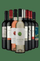 Kit 8 Vinhos com Descontão (8 Vinhos)