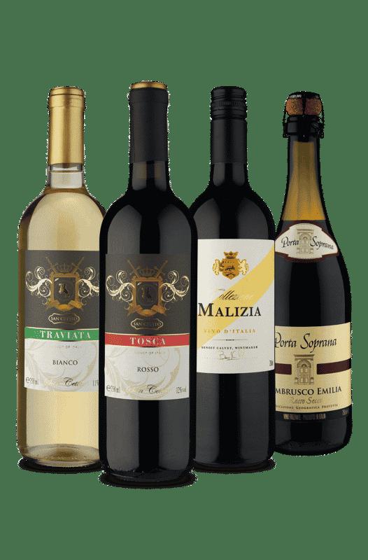 Kit Origem Itália (4 Vinhos)
