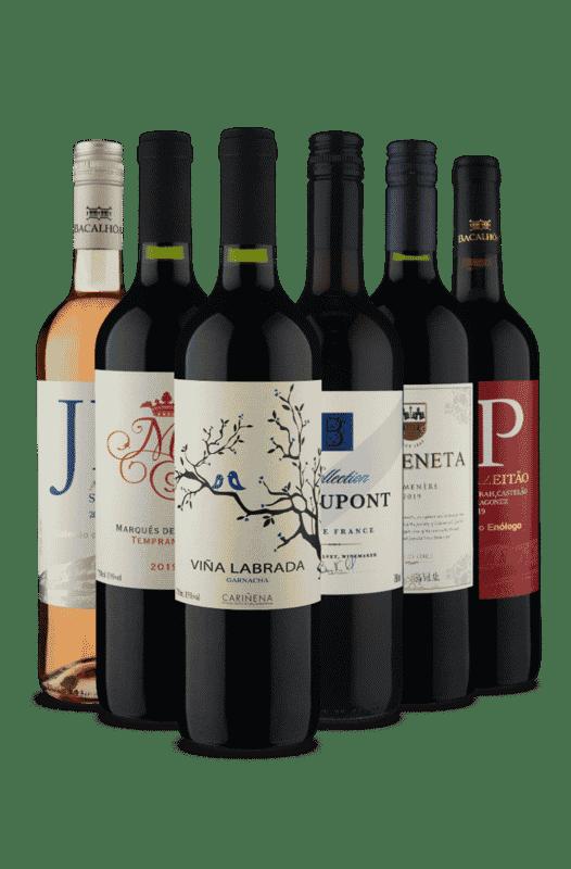 Kit Premium 4 países (6 Vinhos)