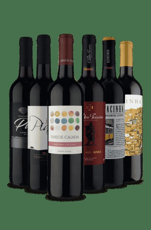 Kit Tintos Portugueses (6 Vinhos)
