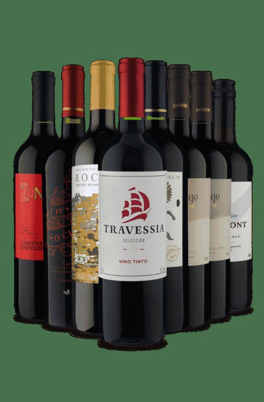 Kit Relâmpago Melhores Tintos (8 Vinhos)