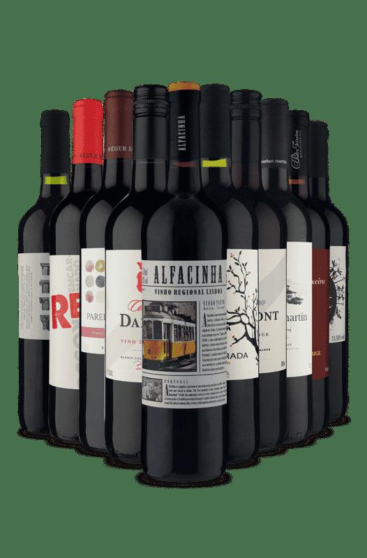 Kit Tintos Europeus (10 Vinhos)