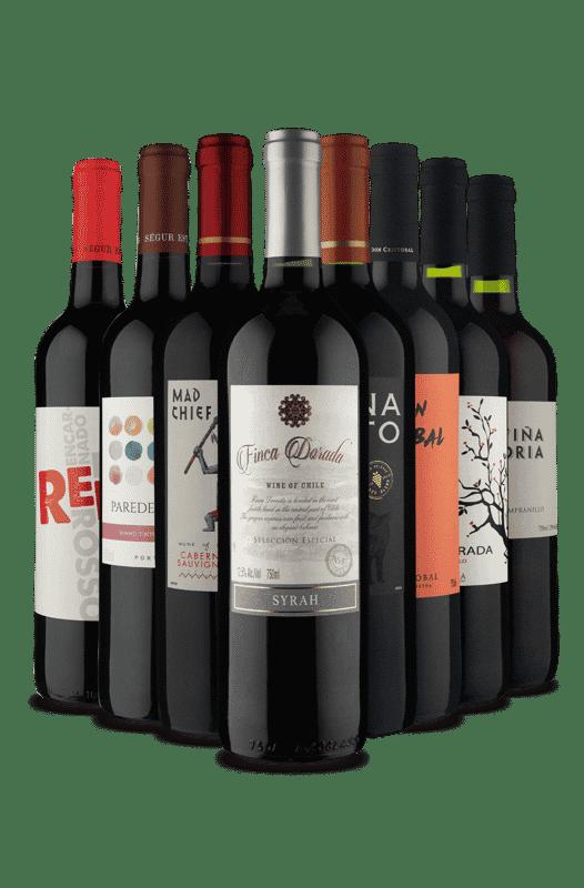 Kit Melhores Tintos (8 Vinhos)