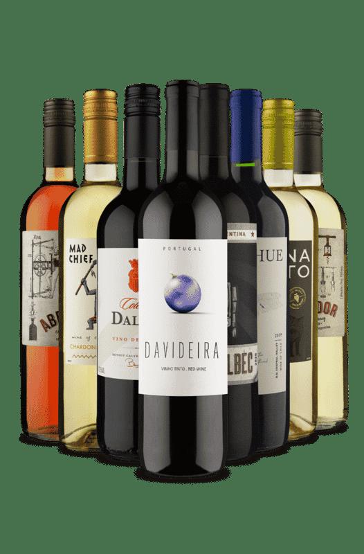 Kit Misturas de Natal (8 Vinhos)
