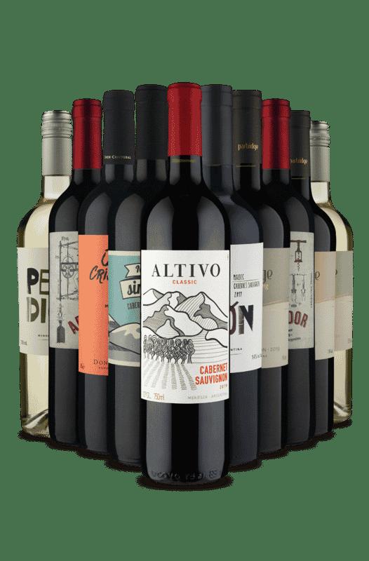 Kit Especiais da Argentina (10 Vinhos)