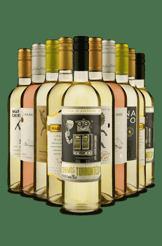 Kit Refrescantes (10 Vinhos)