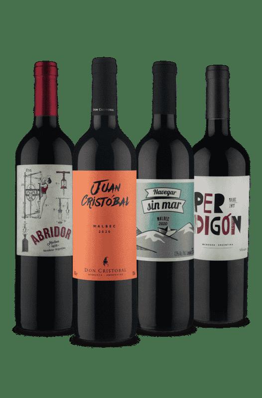 Kit Melhor do Malbec (4 Vinhos)