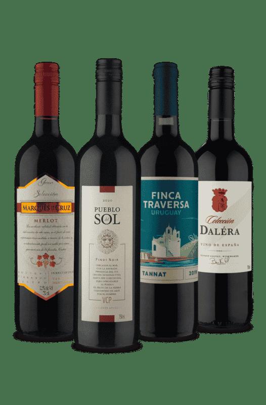 Kit Espanha x Uruguai (4 Vinhos)