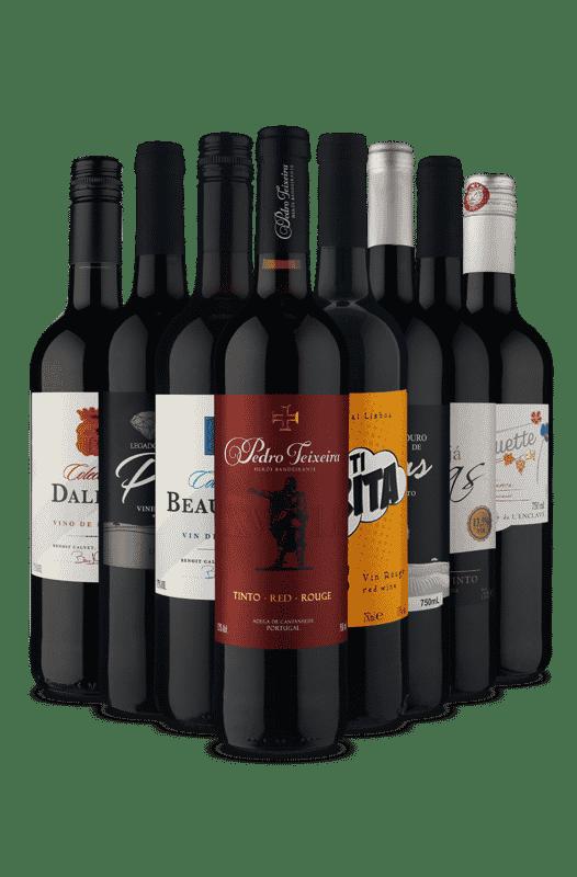 Kit Especial Uvas Misturadas (8 Vinhos)