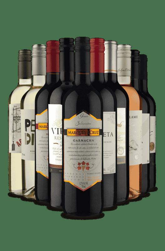 Kit Europa x América (10 Vinhos)