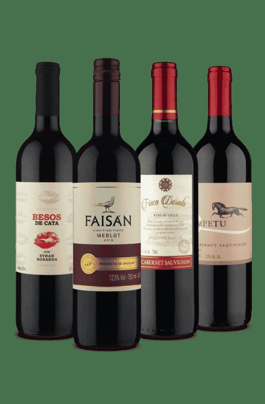 Kit Mais Buscados (4 Vinhos)